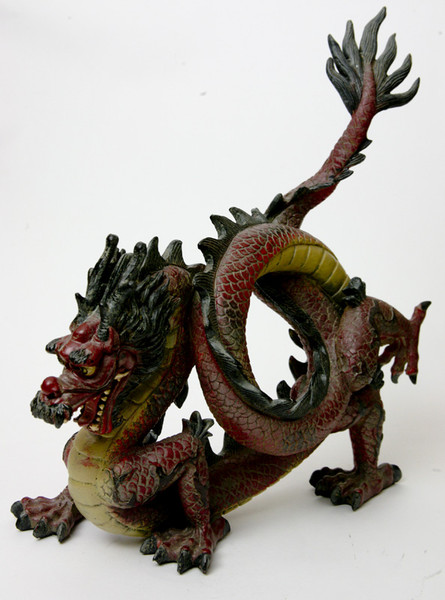 Chinese draak met drakenparel* bij Crystal Temptation in Venlo