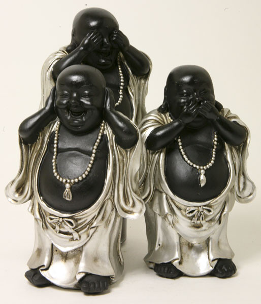 Happy Boeddha horen, zien en zwijgen bij Crystal Temptation in Venlo